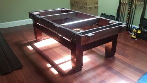 Correctly performing billiard table installations, Wilson North Carolina